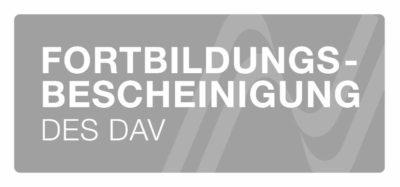 Siegel Fortbildungsbescheinigung des Deutschen Anwaltvereins