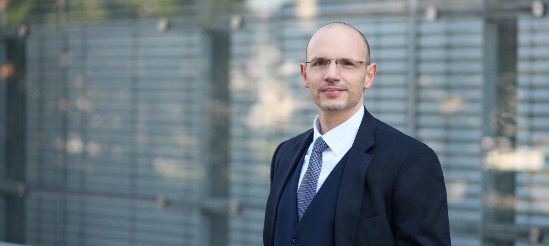 Porträtfoto Rechtsanwalt Reeb Mannheim